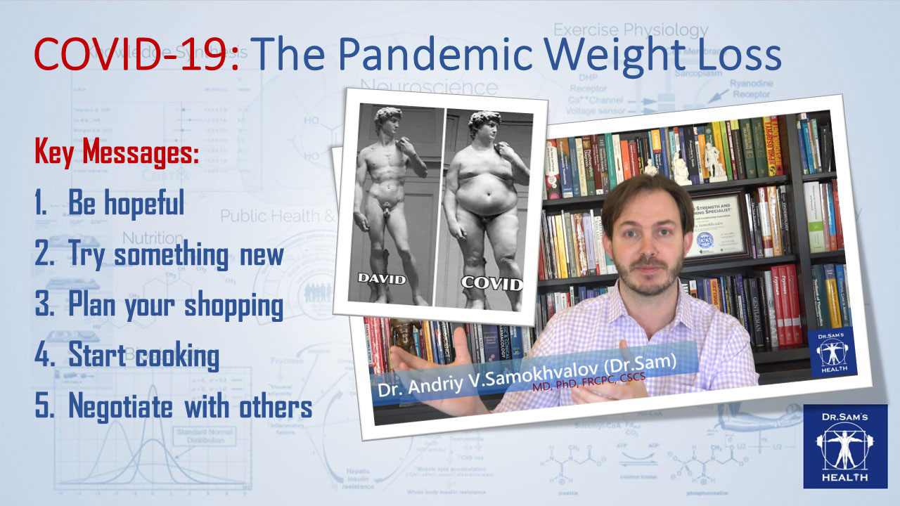 COVID-19: The Pandemic Weight Loss