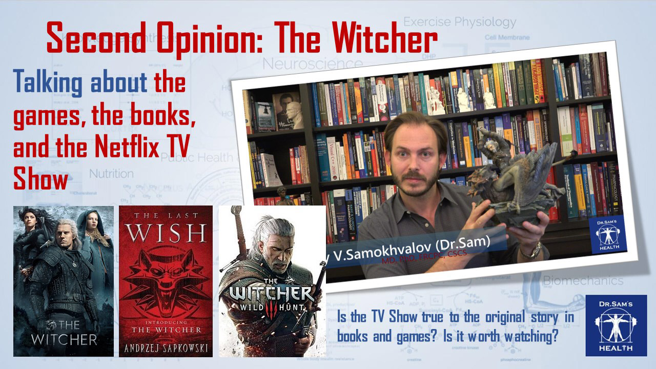 Second Opinion The Witcher Books, Games, and TV Show