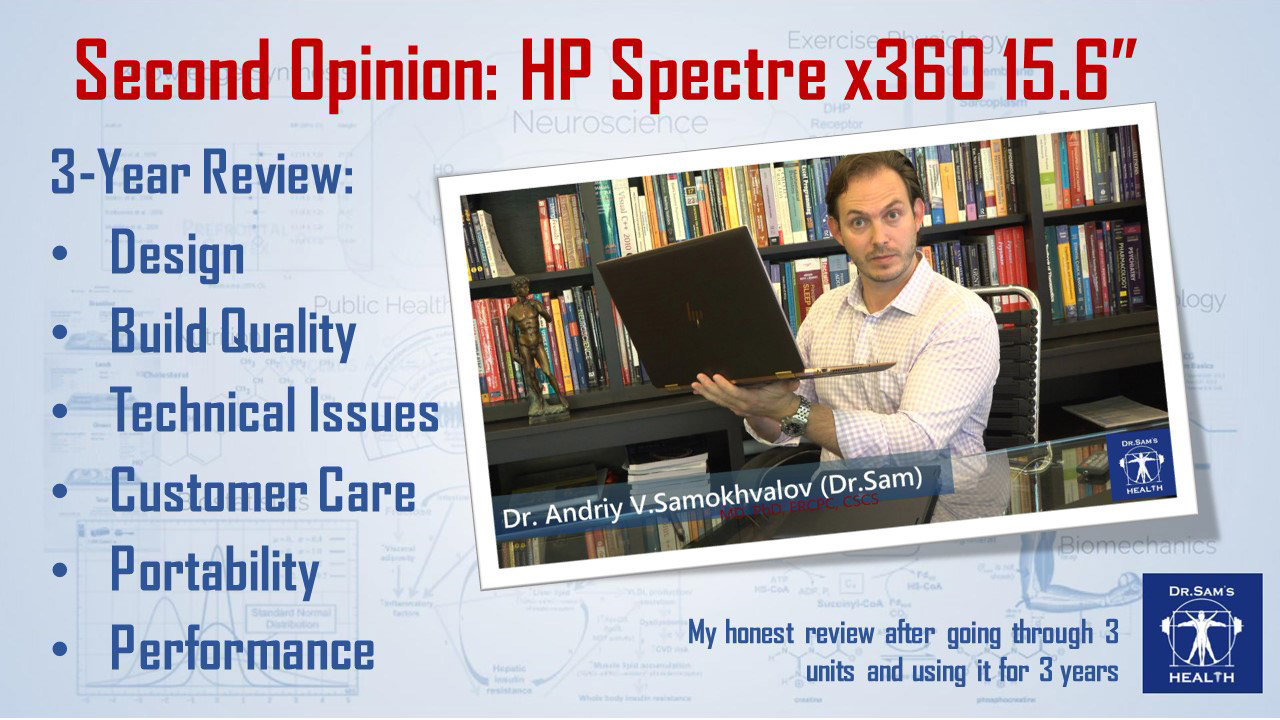 Second Opinion HP Spectre x360 (3-Year Review)