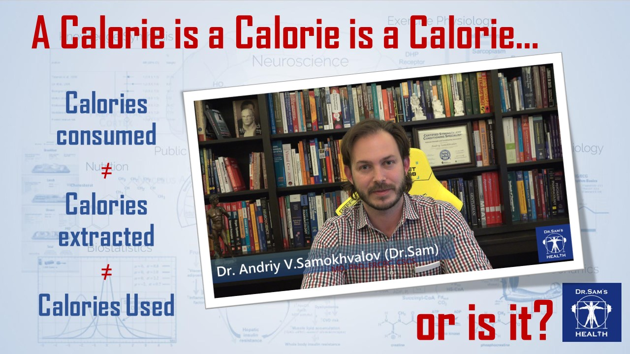 Calorie is a calorie is a calorie... or is it?