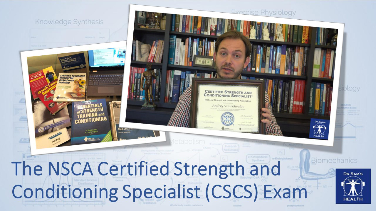 NSCA CSCS Test
