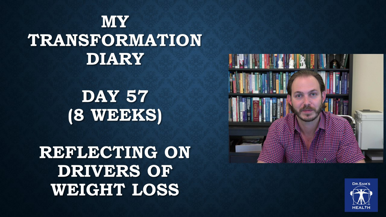 My Transformation Diary: August 19th, 2018